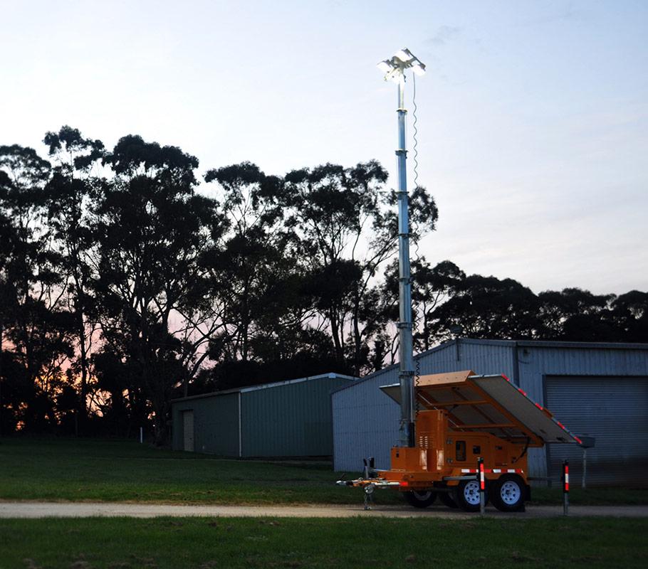1200W Solar Light Tower