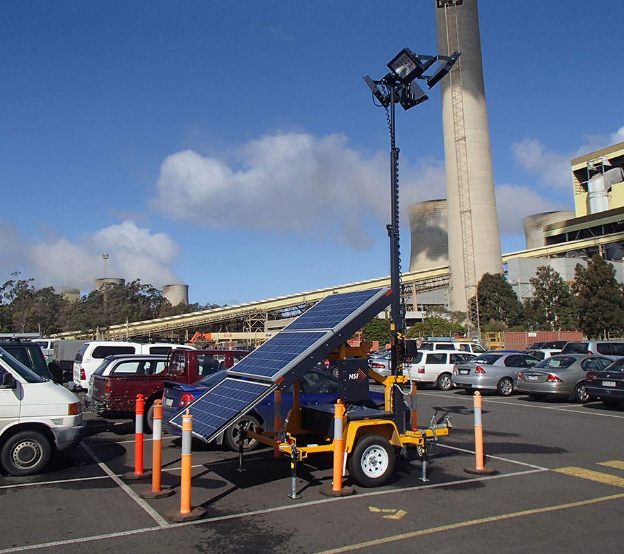 750W Solar Light Tower
