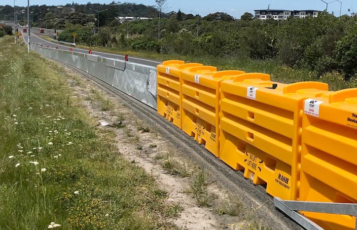 CSP Pacific Temporary Barriers